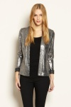 8.Warehouse silver blazer
